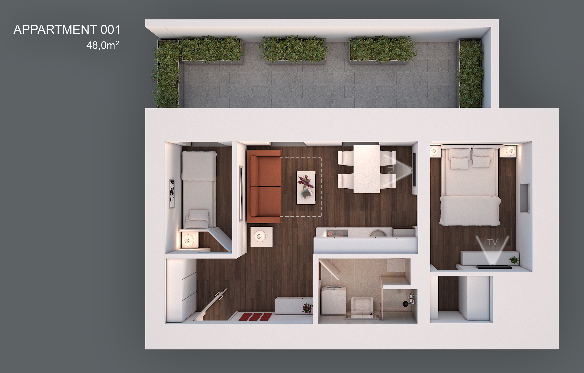 Apartment 001 layout