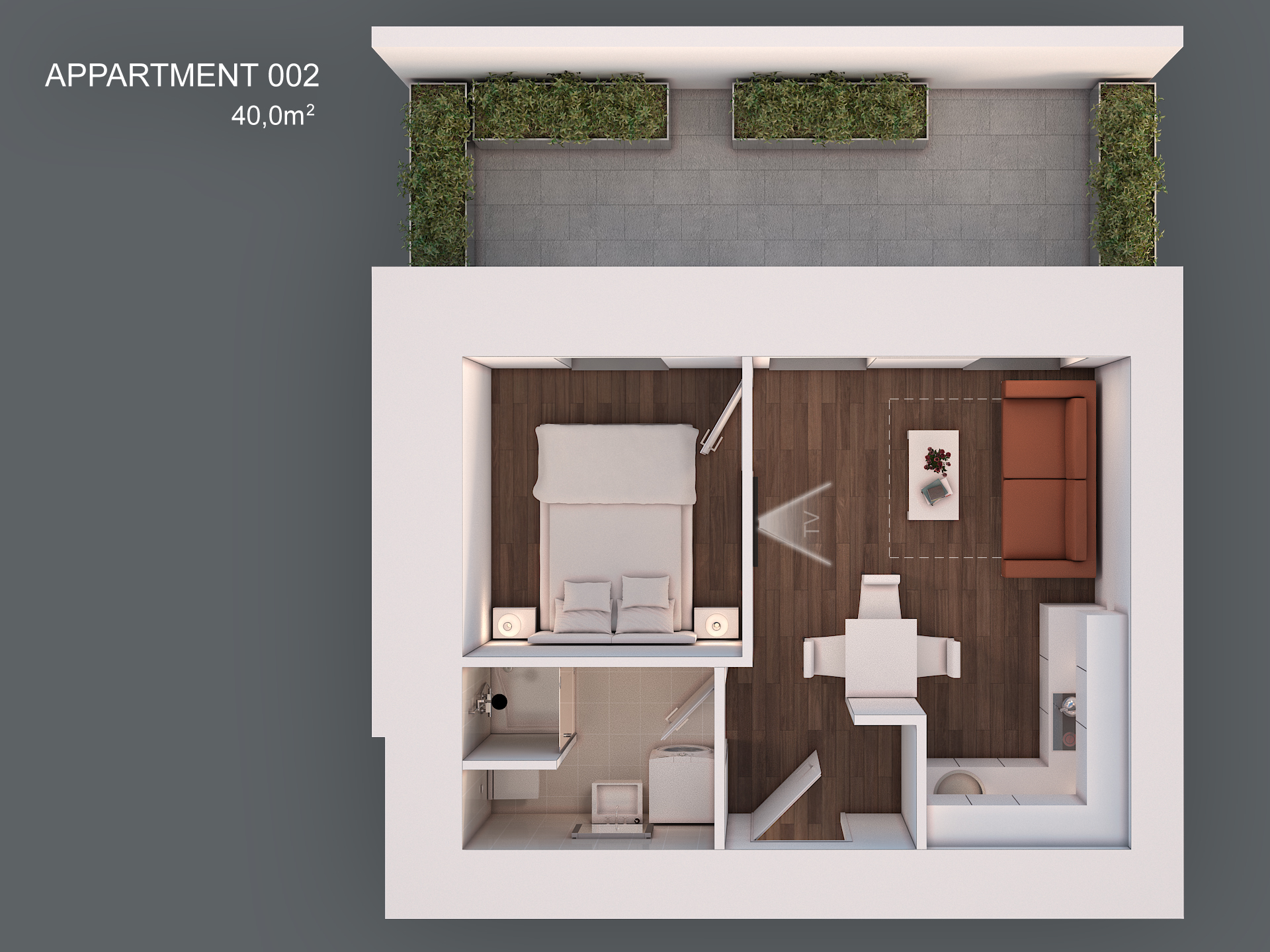 Apartment 002 layout