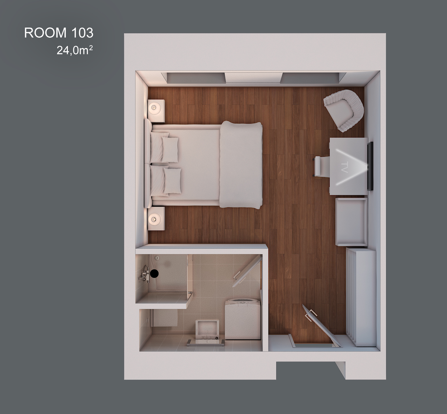 Room 103 layout